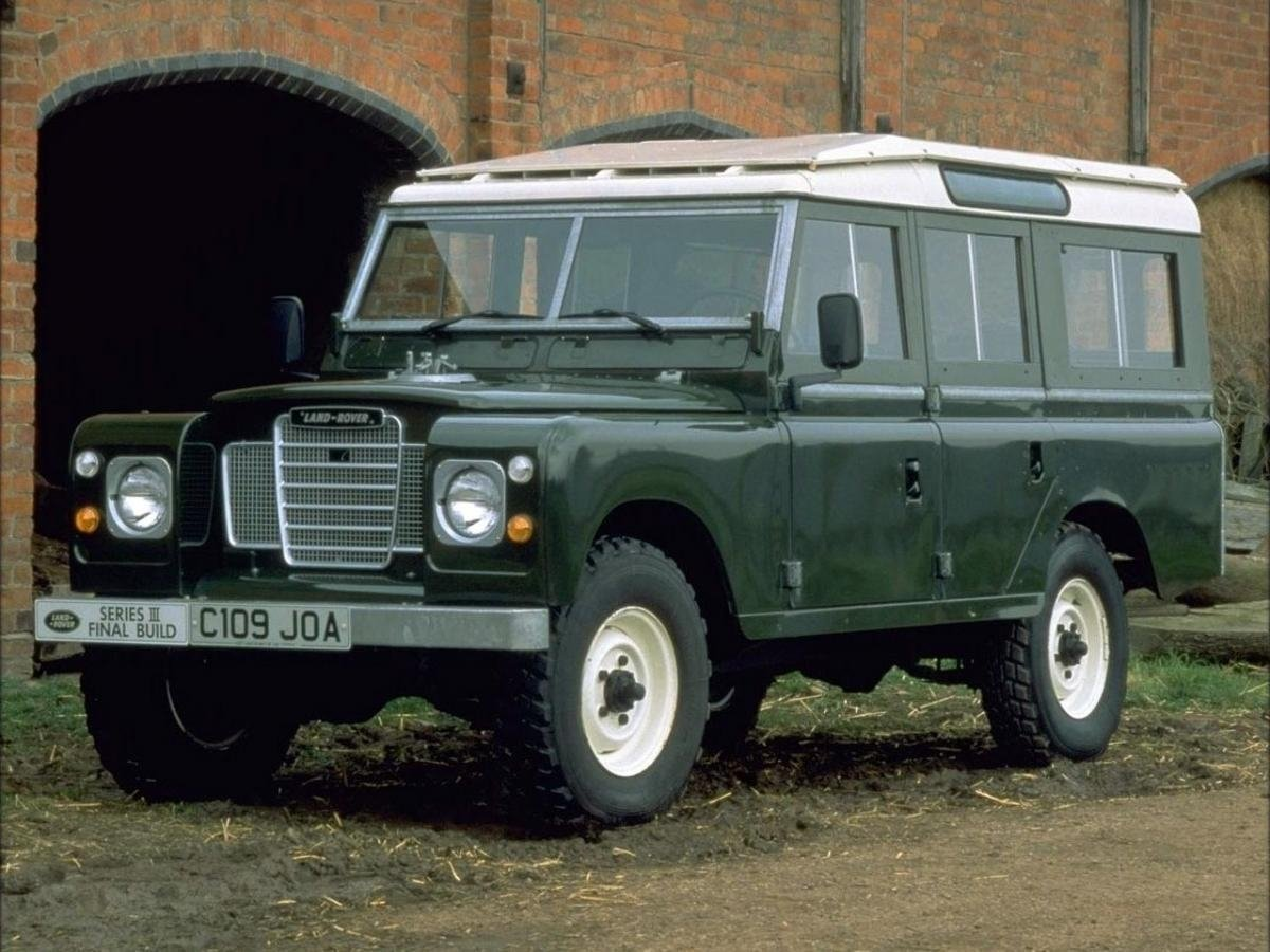 Автомобиль Land Rover Series III