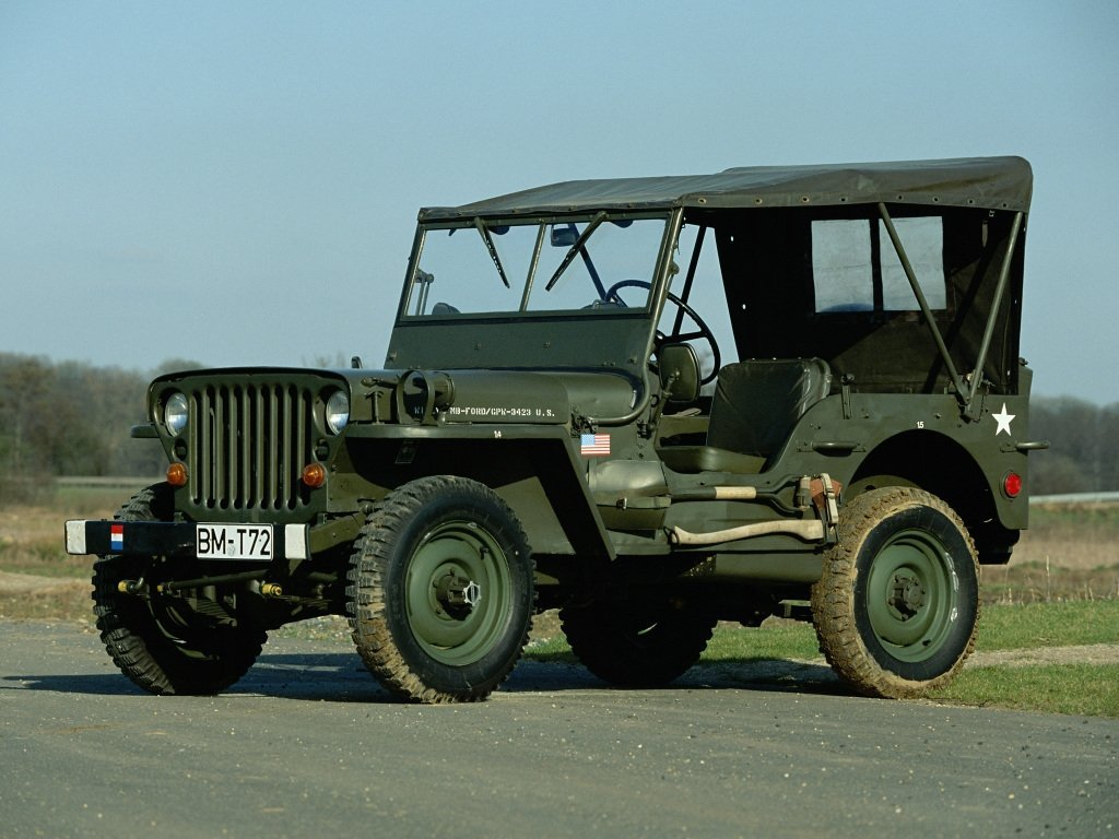 Автомобиль Willys MB