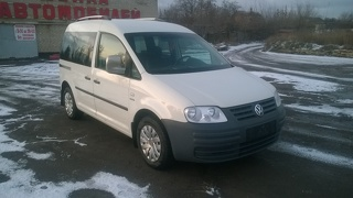 Volkswagen Caddy, Минивэн 2007